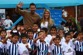 Claudio und Karla Pizarro in Peru
