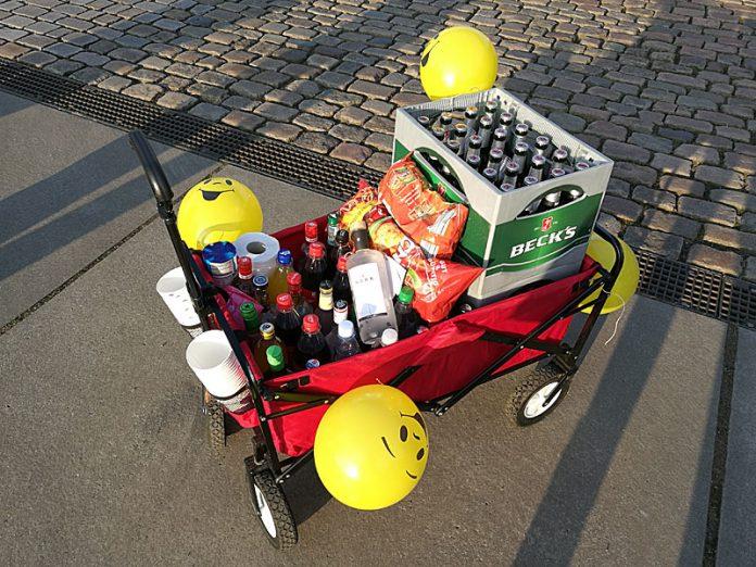 Bollerwagen für Kohltour