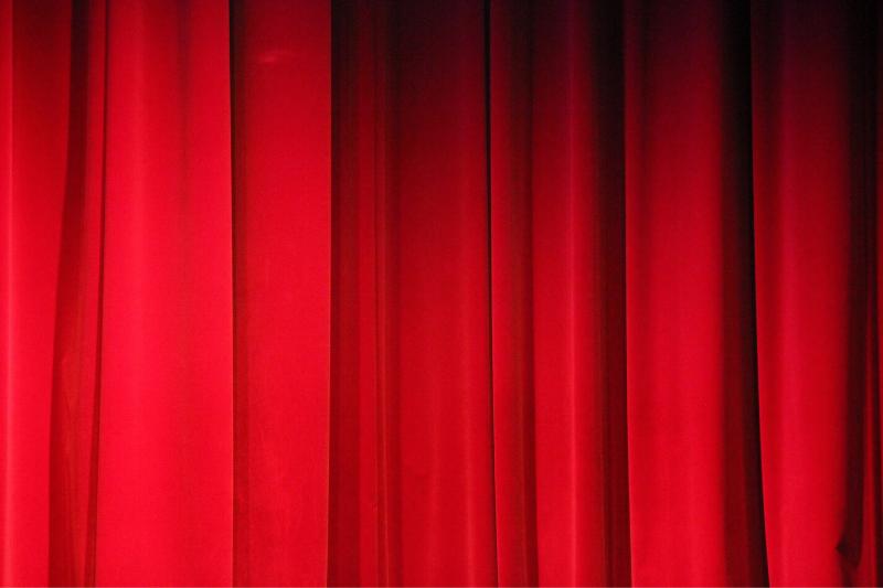 Roter Vorhang im GOP